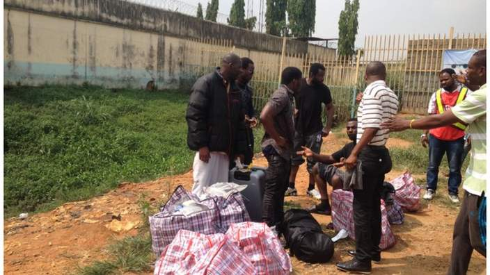 Only 48 Nigerians Were Deported From UK – Immigration Reacts + Photos Of Deportees