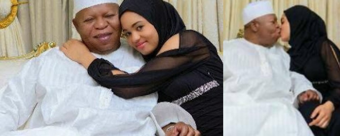 [PHOTOS] Meet Abubakar Audu's Teenage Wife, Olivia Whose Dream Of Becoming Kogi First Lady Has Been Shattered
