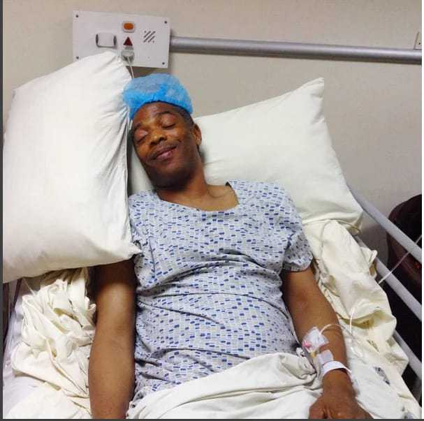 [PHOTOS] Femi Kuti Discharged From Hospital After Undergoing Surgery