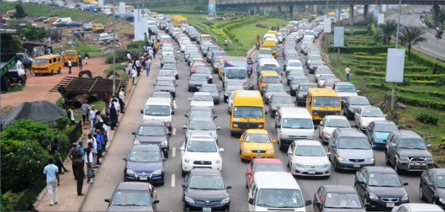 lagos traffic - Why Lagos is presently experiencing heavy traffic -Information commissioner, Gbenga Omotoso