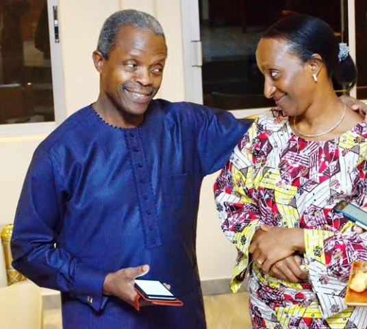 Vice President Osinbajo & Wife Mark 26th Wedding Anniversary + See Their Wedding Photo