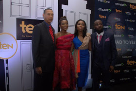 [PHOTOS] Lai Muhammed,  Ben Murray Bruce Attend Genevieve Nnaji's Movie Premier In Abuja