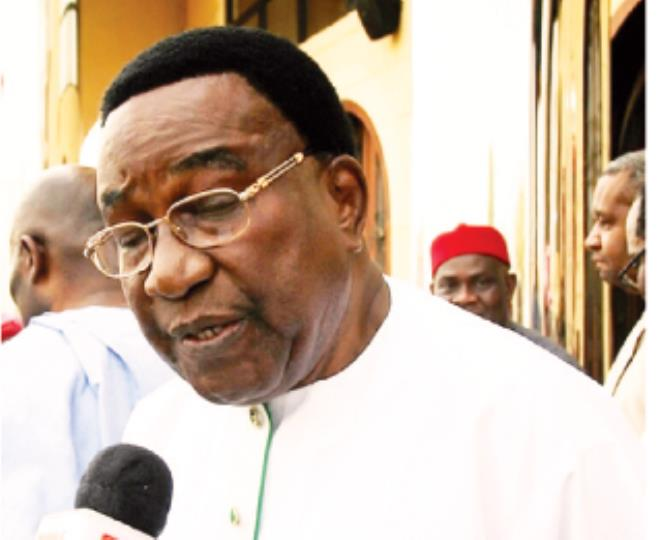 jim nwobodo - Nigeria'll Not Know Peace Until An Igbo Becomes President – Jim Nwobodo