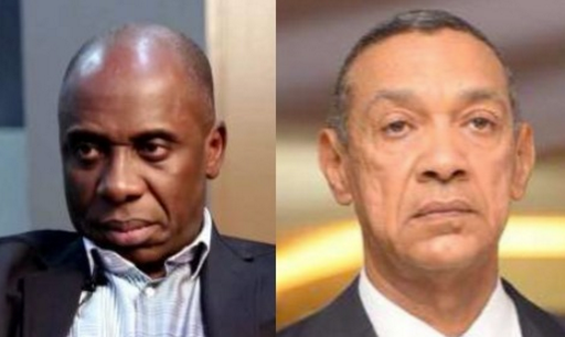 Rotimi Amaechi And Ben Bruce Fight On Twitter And Its Very Dirty