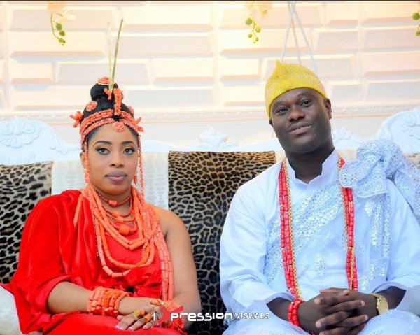 Ooni Of Ife Finally Welcomes His New Wife To His Palace [Photos]