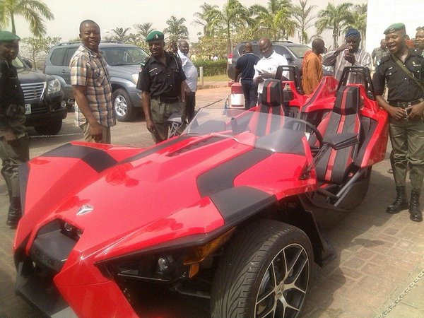 dino melaye luxury car