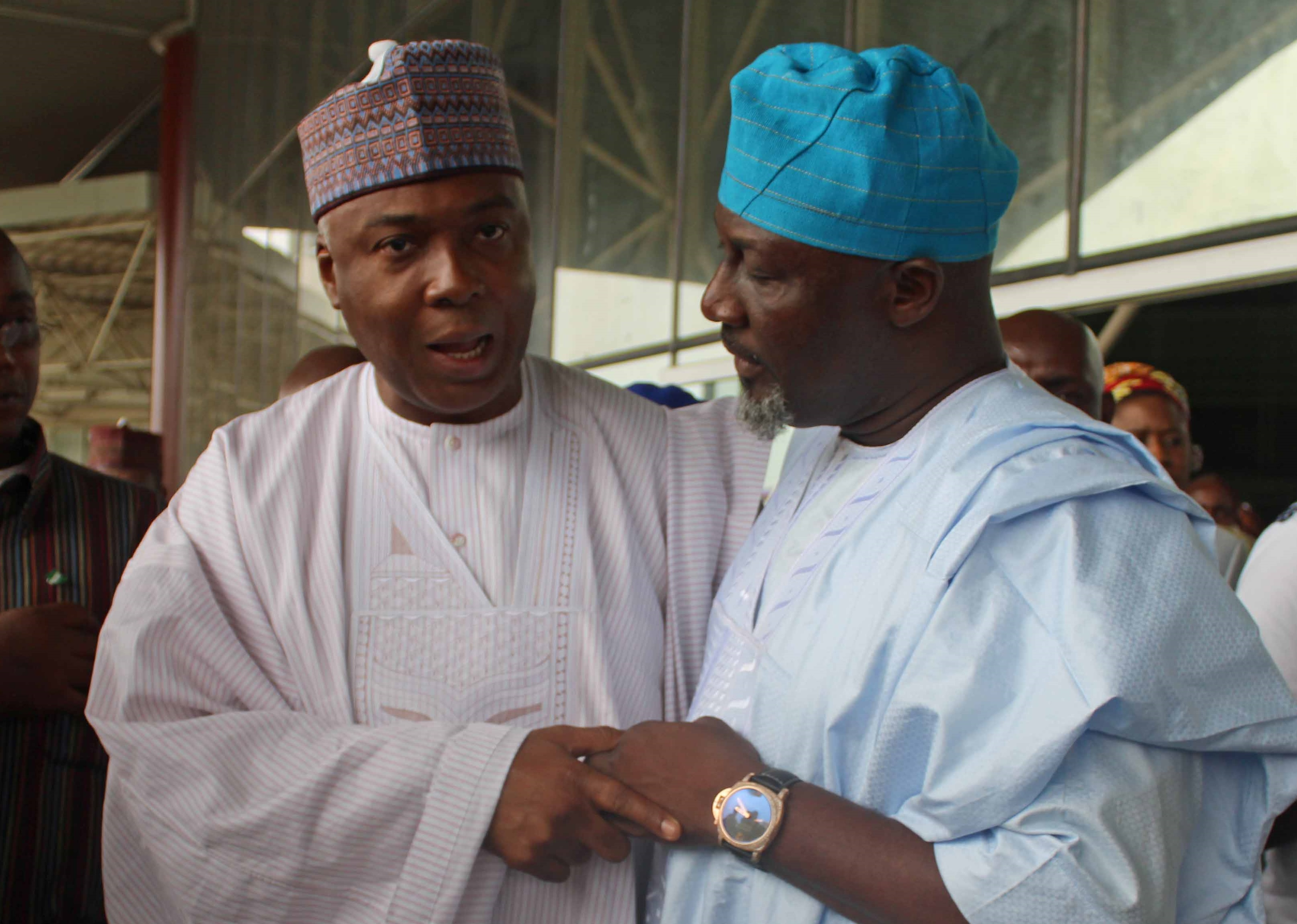 Image result for saraki and melaye