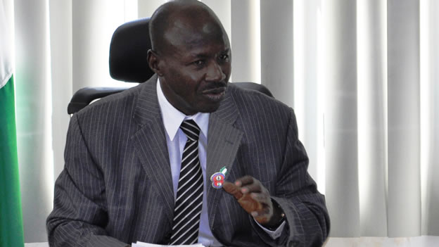 "magu - ""Over N1.3trn Was Stolen In Four Years By 32 People In 4 Years"" – Magu"