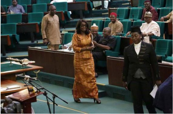 [PHOTOS] Finance Minister, Kemi Adeosun Appears Before House Of Rep Over Nigeria Economy