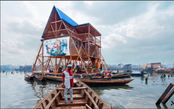 [PHOTOS] See The Amazing Floating Wooden School Built On Water In Lagos