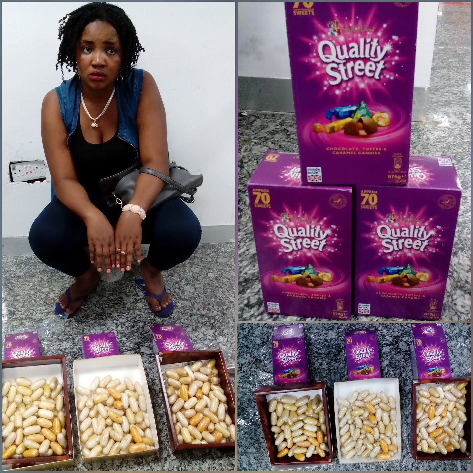 'I Was Promised N500,000' – 24 Year Old Woman Arrested With 193 Wraps Of Cocaine