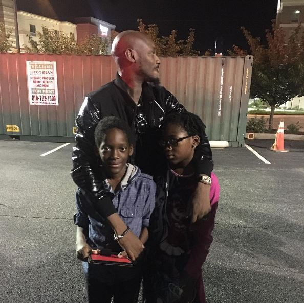 2 Face And His Children With Baby Mama Pero In US