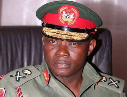 Image result for Chief of Defence Staff, Abayomi Gabriel Olonisakin