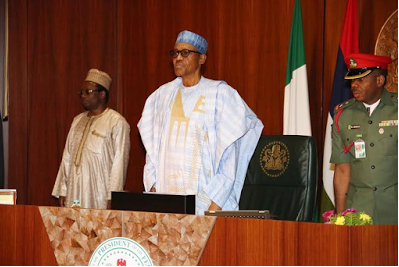 BREAKING: Buhari Holds Closed-Door Meeting With APC Governors In Abuja