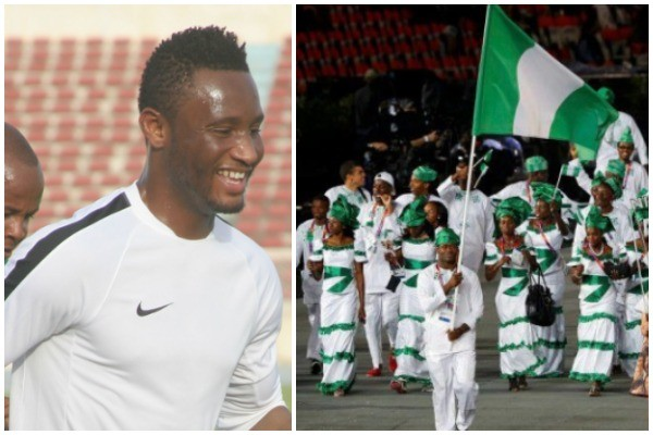 Mikel Obi Named Captain Of Nigeria's 78-Man Team To Olympics