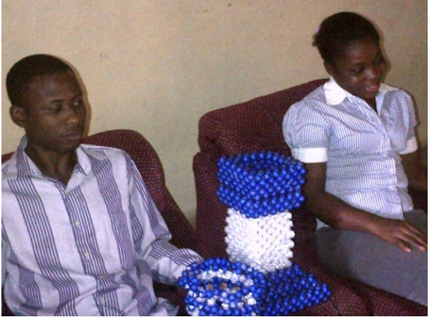 [PHOTOS] Meet The Blind Couple Who Make Beads, Air Freshener And Liquid Soup