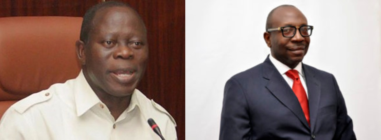 You Will Go to Jail First Before Probing Me – Oshiomhole To Edo PDP Candidate, Ize-Iyamu