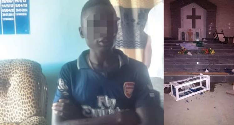 We Attacked Church Because Members Were Disturbing Us With Music During Juma'at Prayers —Suspect