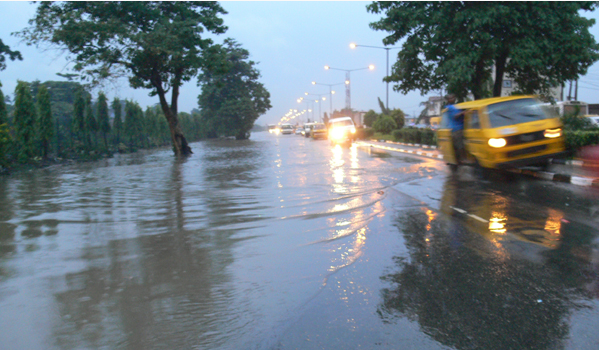 [PHOTOS] Lagos Communities Experience Flood After 13 Hours Of Rain