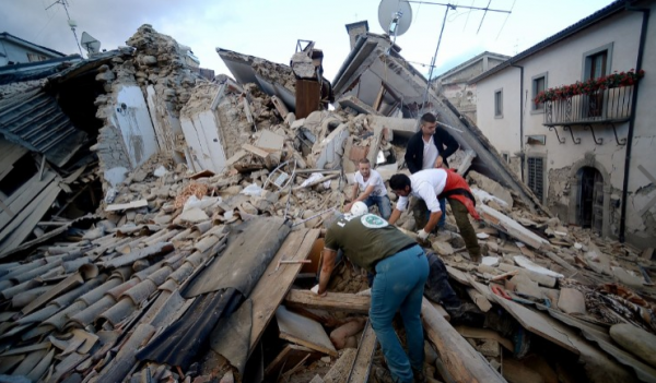 [PHOTOS] At Least 73 People Confirmed Dead In A 6.2 Magnitude Earthquake In Italy