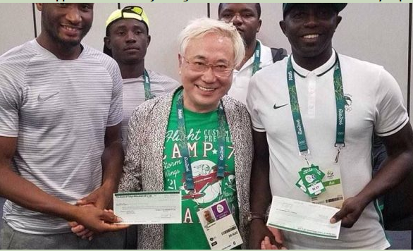 Nigerians React As Japanese Billionaire Blasts Dalung Over Donation To Olympic Team