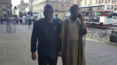 [PHOTOS] Minister Of Information, Lai Mohammed In Scotland For Edinburgh International Festival Summit