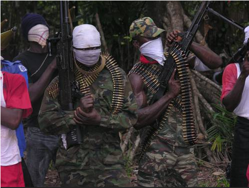 Niger Delta Avengers Resume Attacks On Pipeline, Blow Up Chevron Pipeline In Delta