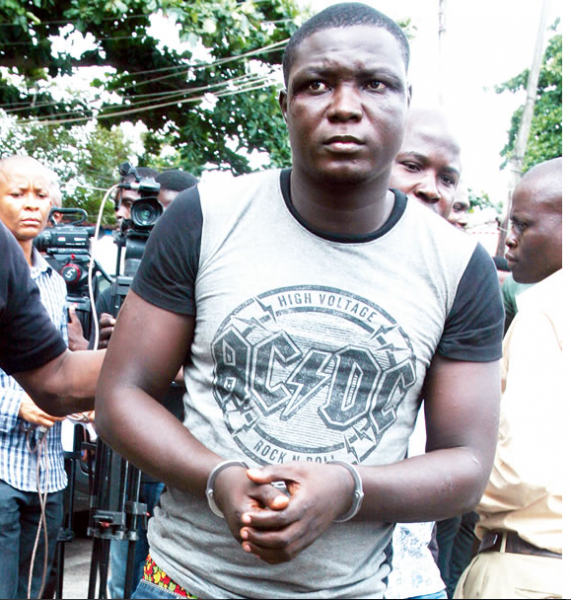 [PHOTO] Police Arrests Cult Leader, Small Jpron, For Committing Five Murders In Lagos