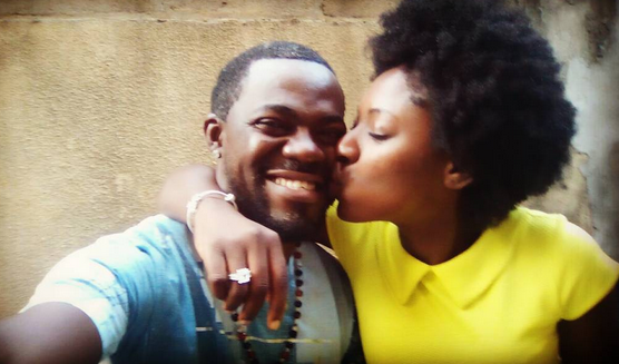 Late Bukky Ajayi's Son Proposes To Actress, Yvonne Jegede On Her Birthday