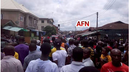 [PHOTOS] Six People Found Dead in Abia Brothel After Reports Of Strange Slaps