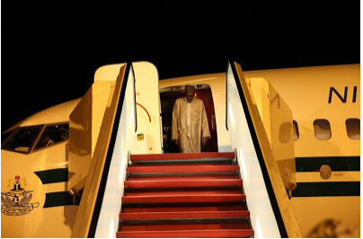 [PHOTOS] President Buhari Arrives Nigeria After Successful Outing In New York