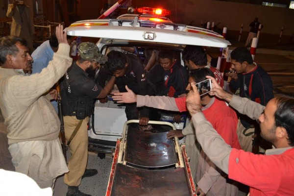[PHOTOS] 59 Dead, 116 Injured In Pakistan Terrorist Attack