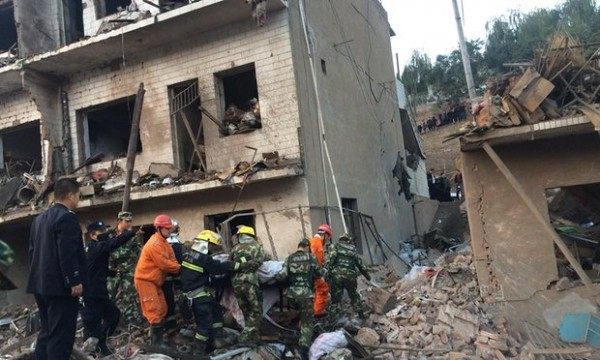 [VIDEO] Powerful Explosion Rocks China, Find Out How Many People Killed