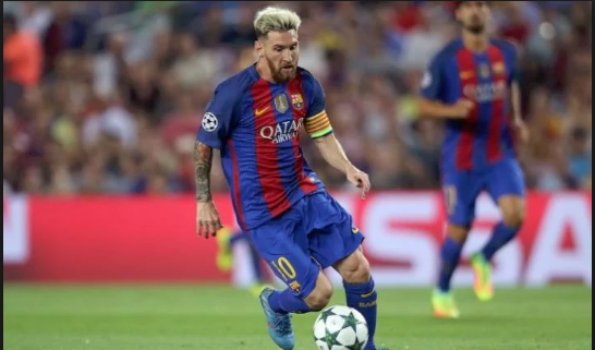 ... five and Barcelona maestro, Lionel Messi has not appeared on the list