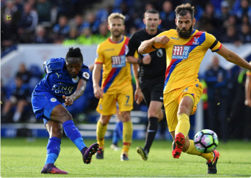 [VIDEO] Ahmed Musa Scores Stunning Goal For Leicester City Against Crystal Palace