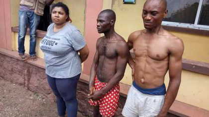 [PHOTO] 32-Year-Old Banker Who Hired Assassins To Kill Her Ex-Husband In Lagos Arrested