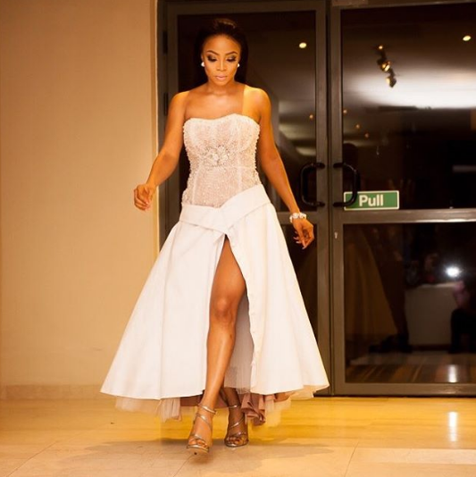 "Toke Makinwa Book Launch1 - 2019 Presidential Debate: ""Atiku Should Have Showed Up For Nigerians"" – Toke Makinwa"