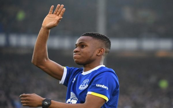 [VIDEO] Nigeria's Ademola Lookman Rounds Up Scoring As Everton Whip Manchester City 4-0| Watch Goals And Highlights