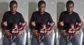 nigerian-man-loses-his-wife-after-she-gave-birth-to-triplets-photos