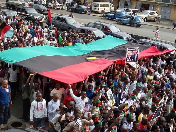 ipob rally bloody show
