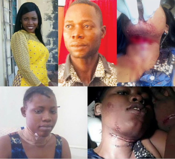 [PHOTOS] Diploma Student Sentenced To 12 Years In Jail For Slithing His Girlfriend's Throat In Adamawa