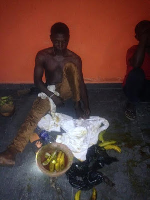 [PHOTOS] UNILAG Student Raises Alarm As Landlord Tries To Bury Charms In Hostel Inhabited By Fellow Students