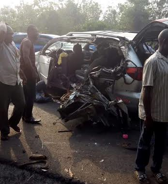 [PHOTOS] Two Killed, Several Injured In Ghastly Motor Accident In Ore, Ondo
