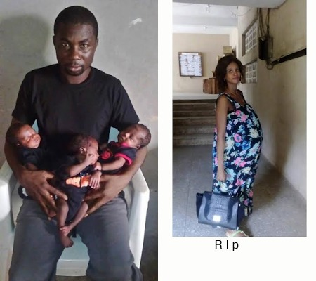 [PHOTOS] 36-Year-Old Woman Who Died After Giving Birth To Triplets Buried In Edo