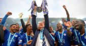 Claudio Ranieri Lifts The EPL Trophy Just Nine Months Ago