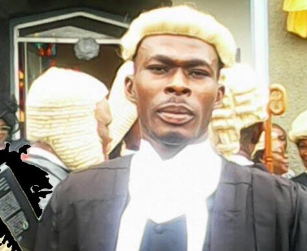 [PHOTO] 'My Call To Bar Certificate Fell Into Water' – Suspected Fake Lawyer Confesses