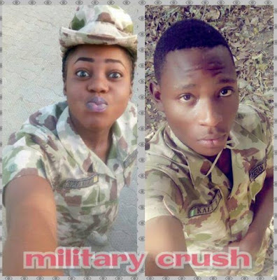 Watch Video Of The NAF Officer And His Late Girlfriend Singing When the Going Was Good