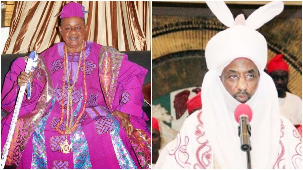 emir of kano alaafin of oyo