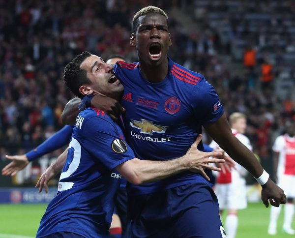 VIDEO Manchester United Win Europa League To Secure A Place In 2017