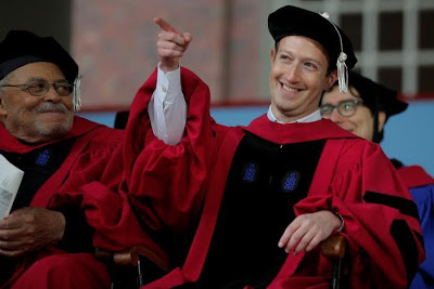 mark zuckerberg harvard degree